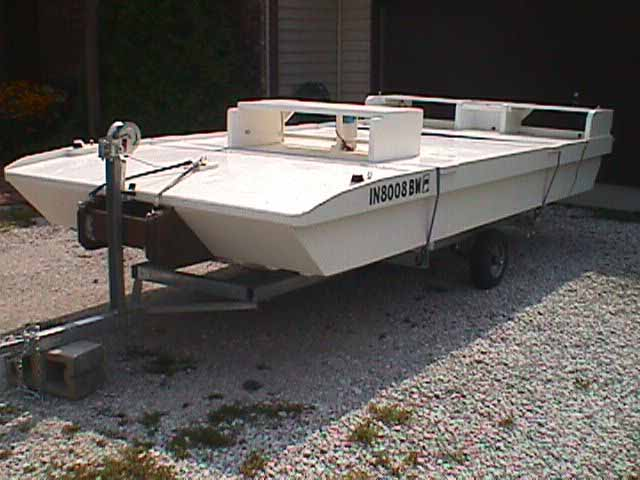 Pontoon Boat Plans | Boat Building Plans - Recreational Watercraft