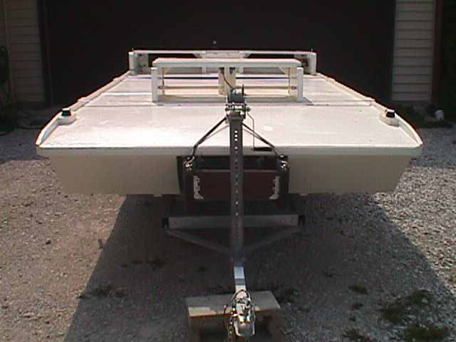 Homemade Pontoon Boat